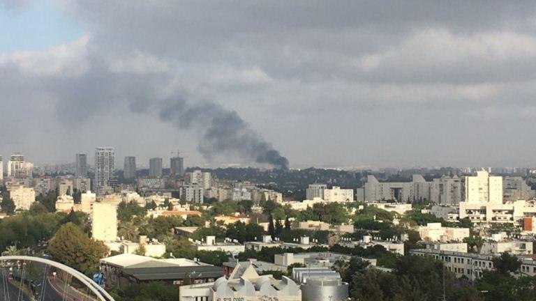 دام برس : دام برس | حريق كبير في قاعدة للجيش الإسرائيلي بتل أبيب