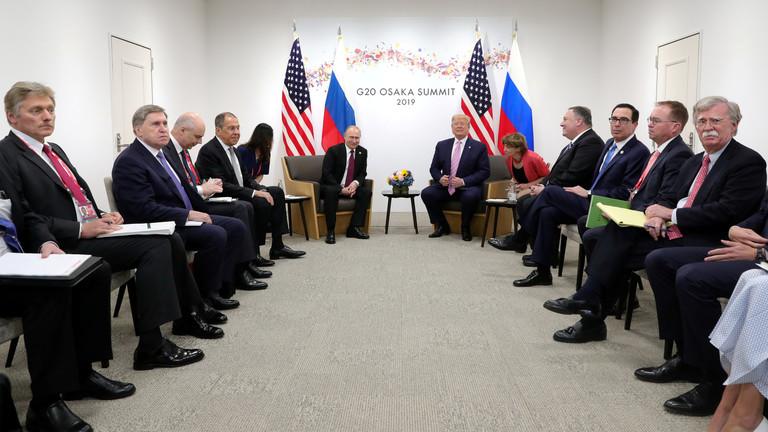 دام برس : دام برس | أهم القضايا التي كانت على طاولة بوتين وترامب خلال لقائهما في اليابان