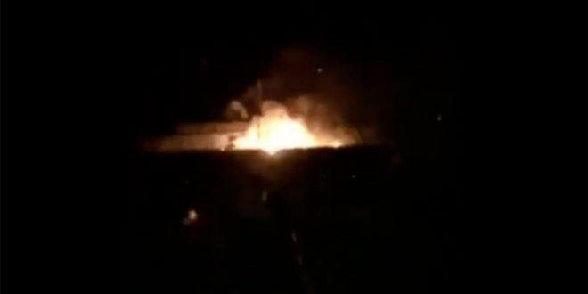 دام برس : دام برس   سلسلة انفجارات بمستودع ذخيرة تركي في مدينة الريحانية بلواء اسكندرون