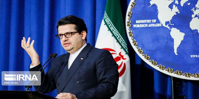 "دام برس : دام برس | طهران: ""قانون قيصر"" إرهاب اقتصادي وإيران ستواصل تعزيز علاقاتها مع سورية"