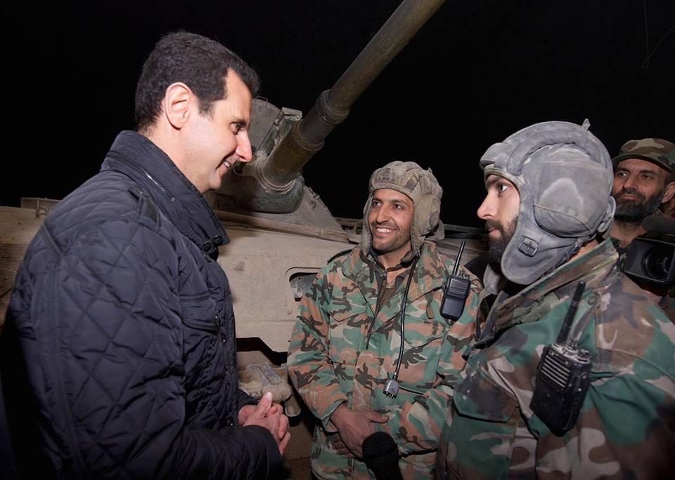 الرئيس الأسد لـ العقيد صبحة : إخراجكم لرفاقكم الجرحى سيعلّم العالم ما هي أخلاق الجيش