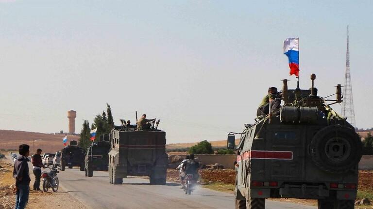 دام برس : دام برس | القوات الروسية تؤمن سير القوافل على الطريق الدولي