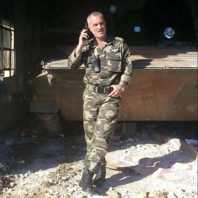 سورية تزف شهيدها البطل العقيد حسان كامل رشو