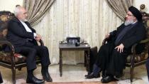 نصر الله لظريف: نتنمى أن تواصل إيران دعمها للمقاومة